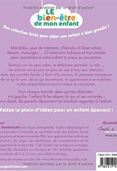 Livres Couvertures de Activites concentration - 35 activités pour développer l'attention de votre enfant