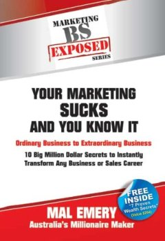 Livres Couvertures de Your Marketing Sucks and You Know It (Exposed) (English Edition)