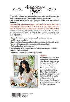 Livres Couvertures de Megalow Food: Recettes gourmandes à indice glycémique bas