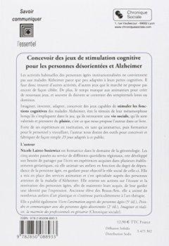 Livres Couvertures de Concevoir des jeux de stimulation cognitive : Pour les personnes désorientées et Alzheimer