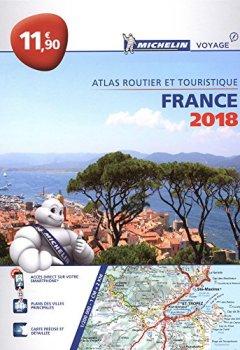Livres Couvertures de Atlas routier France Michelin 2018