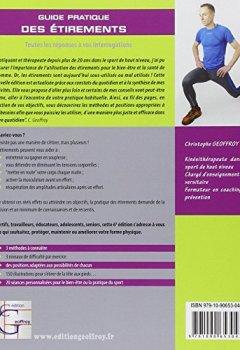 Livres Couvertures de Guide pratique des étirements : Méthodes et exercices pour tous