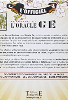 Livres Couvertures de Le coffret de l'Oracle Gé - Livre + jeu