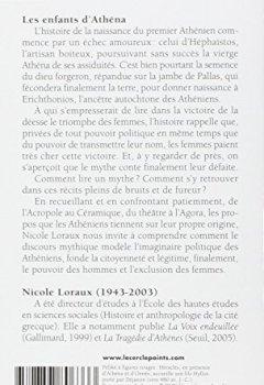Livres Couvertures de Les enfants d'Athéna : Idées athéniennes sur la citoyenneté et la division des sexes