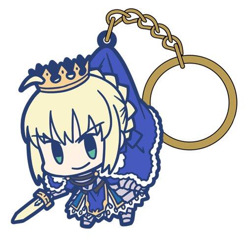 Fate/Grand Order セイバー/アルトリア・ペンドラゴンつままれキーホルダー