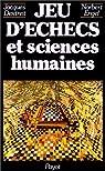 Jeu d'échecs et sciences humaines