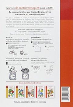 Livres Couvertures de Manuel de mathématiques CM1 : Cahier d'exercices B