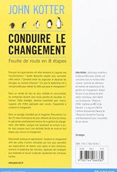 Livres Couvertures de Conduire le changement : Feuille de route en 8 étapes