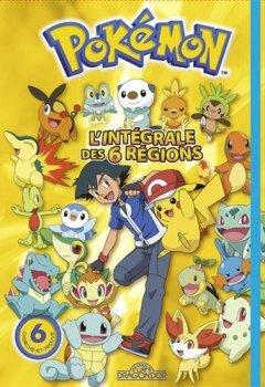 Livres Couvertures de Pokémon - L'Intégrale des six régions