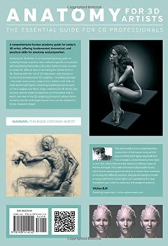 Livres Couvertures de Anatomy for 3D Artists: The Essential Guide for CG Professionals