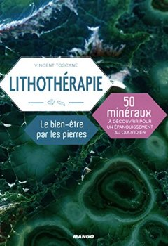 Livres Couvertures de Lithothérapie : le bien-être par les pierres