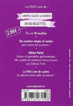 Telecharger Petit Livre de - Crêpes salées et sucrées en 90 recettes de H�lo�se MARTEL