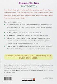 Livres Couvertures de Cures de jus santé/détox