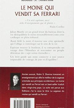 Livres Couvertures de Le moine qui vendit sa Ferrari