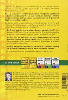 Livres Couvertures de Psychologie des grands traders