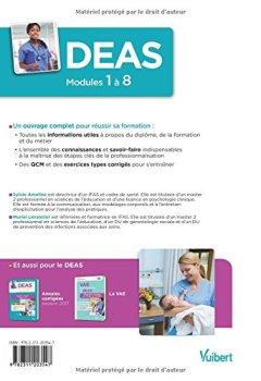 Livres Couvertures de DEAS - Modules 1 à 8 - Préparation complète pour réussir sa formation - Diplôme d'Etat d'Aide-soignant