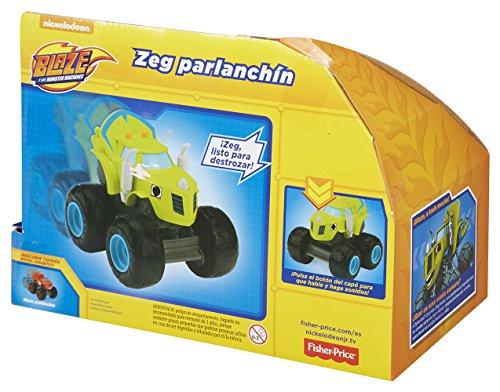Blaze - Coche Zeg Parlanchín (Mattel)