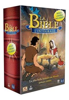 Livres Couvertures de Coffret Intégrale La Bible : ancien testament / nouveau testament - Coffret 6 DVD