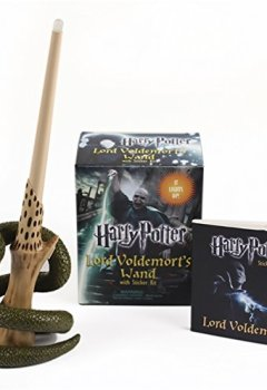 Livres Couvertures de Harry Potter Voldemort's Wand with Sticker Kit: Lights Up!