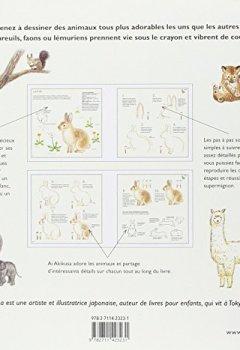Livres Couvertures de Dessiner des animaux supermignons en couleur
