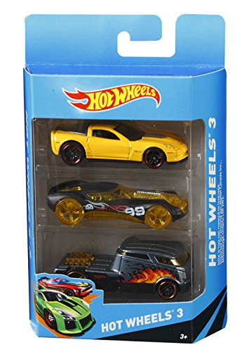 Mattel K5904 Hot Wheels (3 pack)