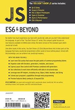 Livres Couvertures de You Don't Know JS - ES6 & Beyond