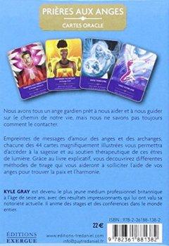 Livres Couvertures de Prières aux anges : Cartes oracles