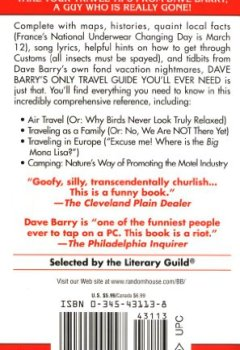 Buchdeckel von Dave Barry's Only Travel Guide You'll Ever Need