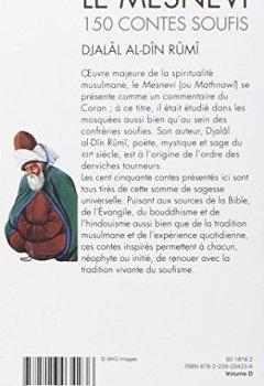 Livres Couvertures de Le Mesnevi : 150 contes soufis