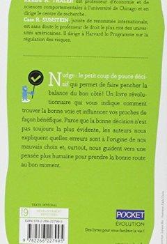 Livres Couvertures de Nudge : La méthode douce pour inspirer la bonne décision