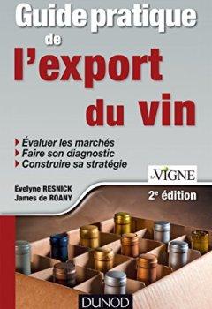 Livres Couvertures de Guide pratique de l'export du vin - 2e édition