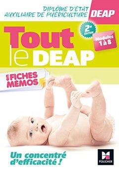 Livres Couvertures de Tout le DEAP en fiches mémos - Diplôme Etat Auxiliaire de Puériculture - Révision