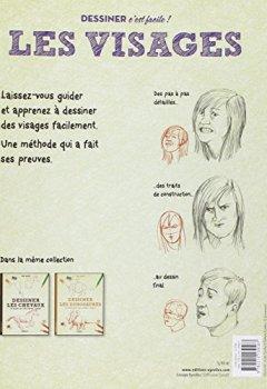 Livres Couvertures de Dessiner les visages- Une méthode simple pour apprendre à dessiner