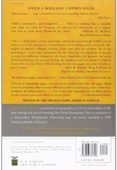 Livres Couvertures de Guns, Germs & Steel – The Fates of Human Societies