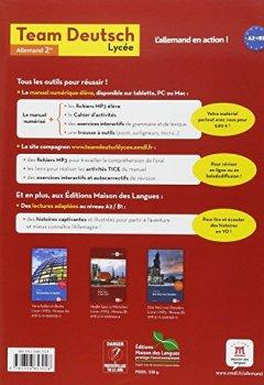Livres Couvertures de Allemand 2e Team Deutsch Lycée Neu! A2-B1