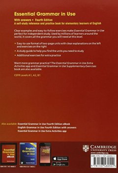 Livres Couvertures de Essential Grammar in Use with Answers: A Self-Study Reference and Practice Book for Elementary Learners of English