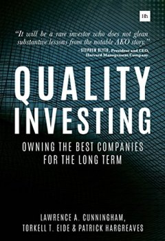 Livres Couvertures de Quality Investing: Owning the best companies for the long term