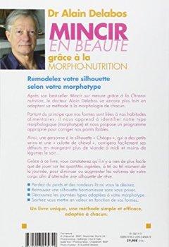 Livres Couvertures de Mincir en beauté grâce à la morpho-nutrition EDITION 2013