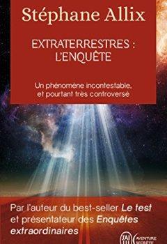 Livres Couvertures de Extraterrestres : l'enquête
