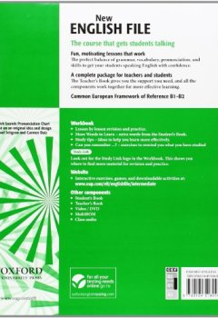Livres Couvertures de New English File Intermediate Worbook Without Key