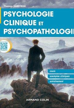 Livres Couvertures de Psychologie clinique et psychopathologie - Cours, exemples cliniques, entraînement