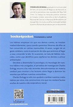 Portada del libro deEl poder de los hábitos (Books4pocket crec. y salud)