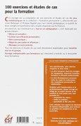 Livres Couvertures de 100 exercices et études de cas pour la formation : Communication, créativité et développement personnel