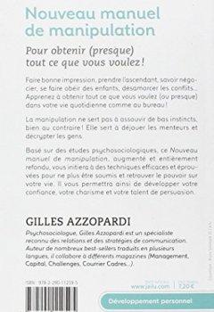 Livres Couvertures de Nouveau manuel de manipulation : Pour tout obtenir (ou presque) !