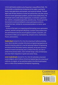 Livres Couvertures de Convex Optimization
