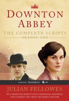 Buchdeckel von Downton Abbey Script Book Season 1