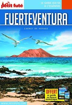 Livres Couvertures de Guide Fuerteventura 2018 Carnet Petit Futé