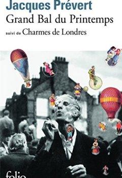 Livres Couvertures de Grand bal du printemps : Charmes de Londres
