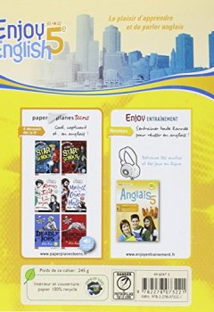 Livres Couvertures de New Enjoy English 5e - Workbook