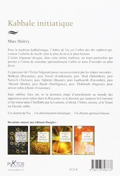 Livres Couvertures de Kabbale initiatique - Un éclair dans l'arbre de Vie